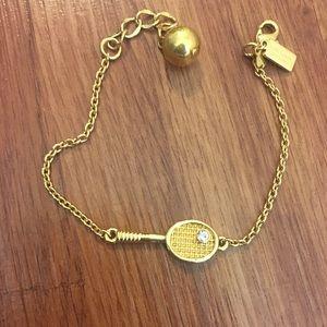 "Kate Spade ""tennis racket"" bracelet"